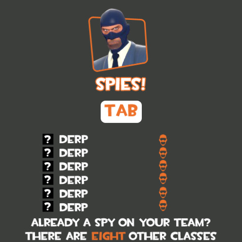 haerodiel:  fuckyeahtf2:  Some helpful hints and tips sprays courtesy of AmazingKai on Reddit. Interested in making your own? Here's what the template looks like, and here's a download for the template itself.  A PSA to every TF2 player ever.