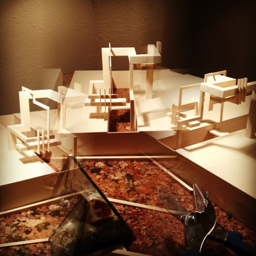 elimmusic:  #architecture #model #invisiblecities #octavia (at Uptown Albuquerque )