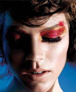 freja beha erichsen-maybelline-fall winter-2012,13