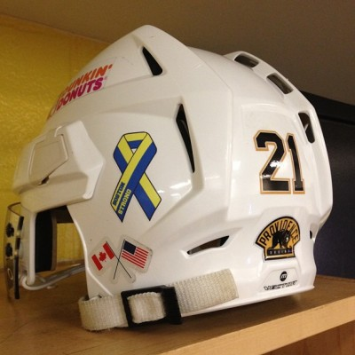 The Providence Bruins stand with Boston. #BostonStrong