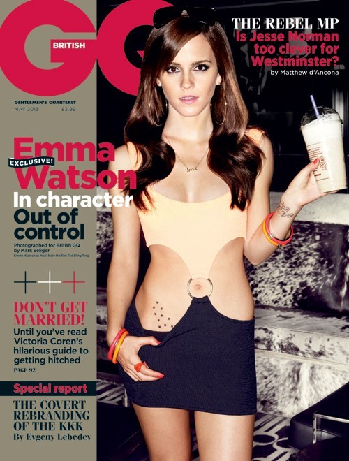 Emma Watson covers the May issue of British GQ!