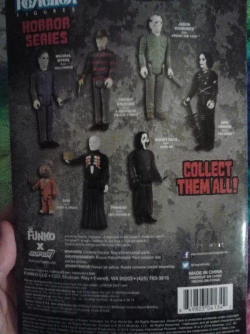 I am so happy I got this little guy today!Horror Series- Pinhead from Hellraiser III: Hell on Earth