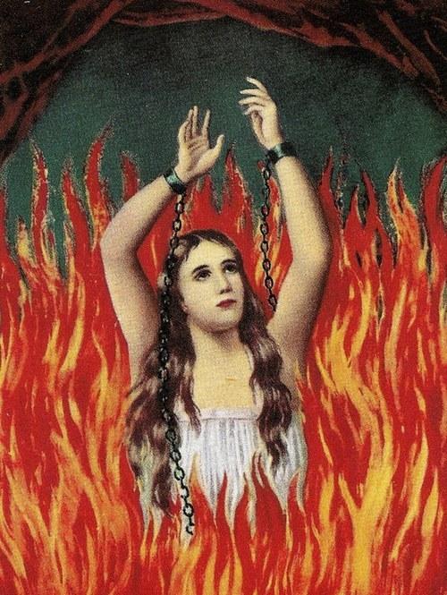 """deathandmysticism: """" Anima Sola, ca. 1900 """""""