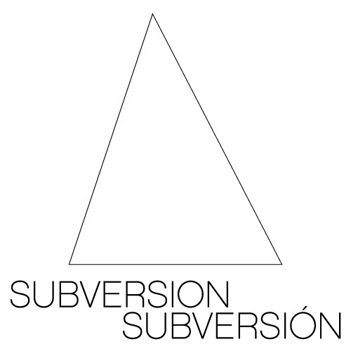 subversionsubversion:  There is no one truth. We are not all the same. We do not all need to agree. But we can exchange and share and talk and get to know each other's situations better and learn, and change our societies for the better.Subversion/Subversión (www.subversionsubversion.com) is an online transnational feminist art magazine in English and Spanish. The multilingual quality of Subversion/Subversión allows for a truly international exchange.We can't wait to include your view in the conversation, submit your artwork or your writing at info@subversionsubversion.com! Like www.facebook.com/subversionsubversion!