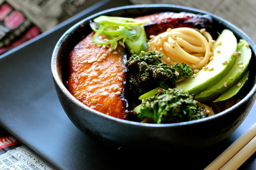 in-my-mouth:  Japanese Noodle Bowl