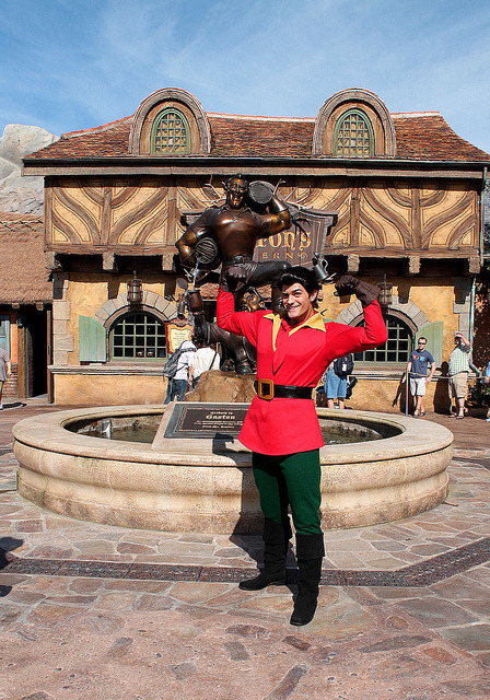 Gaston by disneylori on Flickr.