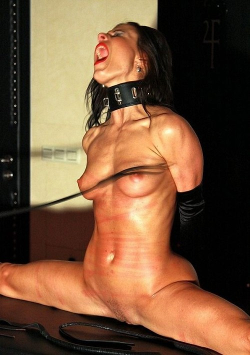 leather-and-steel:  4bdsmsluts:  some days he just wants to hurt you  The harder the whipping, the more she deserves every stripe.