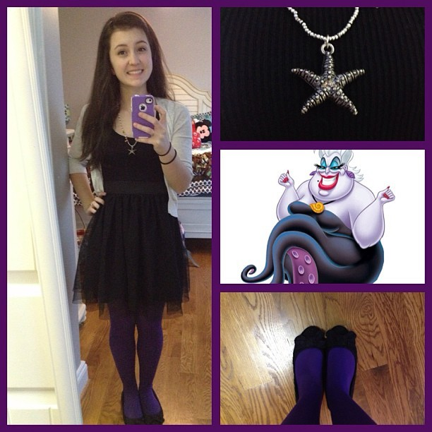 leah-in-love:  #disneybound March Challenge Day 8: Ursula