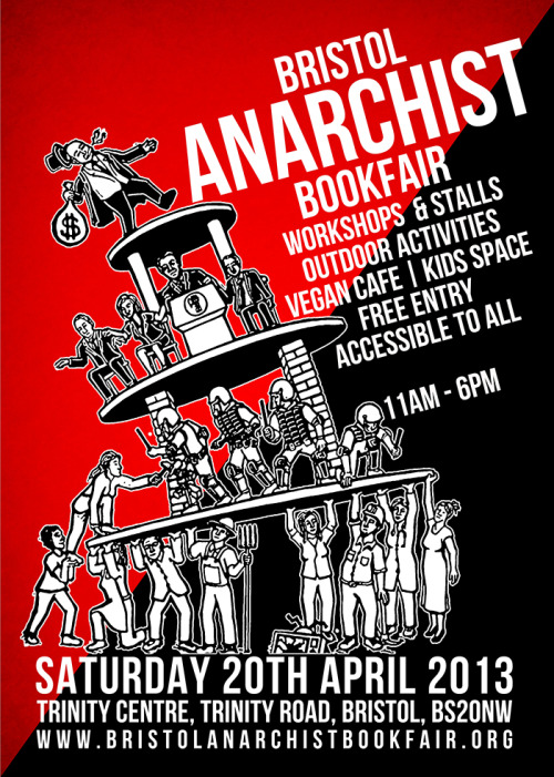 xrunawaysx:   Bristol Anarchist Bookfair is tomorrow!