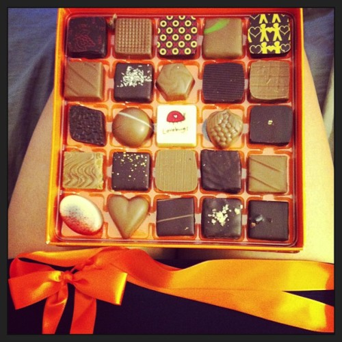 Jacques Torres chocolates from work!