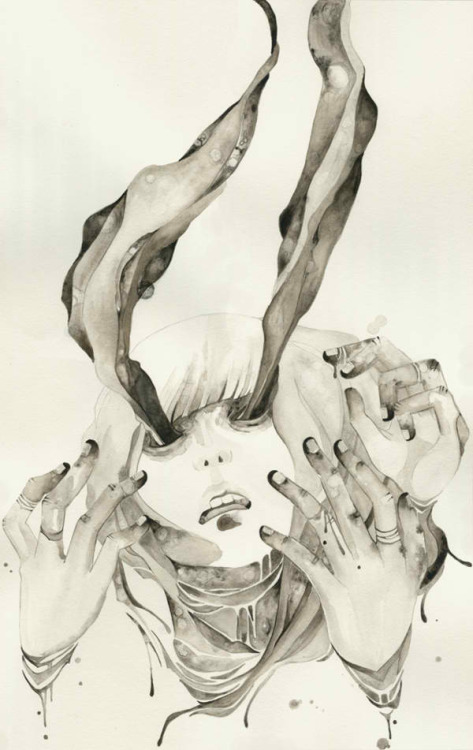 artparasite:    Let Your Demons Run, Lolita Agogo - - - Follow Lolita Agogo on Tumblr HERE!