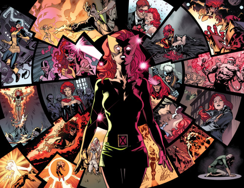 Jean Grey and her many lifes by Stuart Immonen
