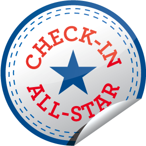 I just unlocked the Check-in All-Star sticker on GetGlue                      436661 others have also unlocked the Check-in All-Star sticker on GetGlue.com                  You rock! That's 50 check-ins!