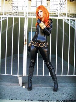 ratemycosplaynet:  A Classic Black Widow #cosplay!  Need links to our Social Media sites? Check out http://www.ratemycosplay.net Sharing the cosplay for you!   ishotcosplay:  Widow