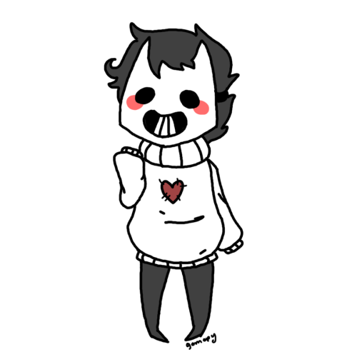 gomopy:  made a mini miaou transparent zacharie for your blog<3 ehueh uwu
