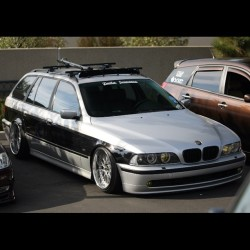 Check out our boy @angelolow's #BMW #E39 #Touring from #MotorUnion in #SanDiego! #sanjaygo #619 #858 #bimmerfest #mfest #slammed #SpeedAndStance (at Pacific BMW)
