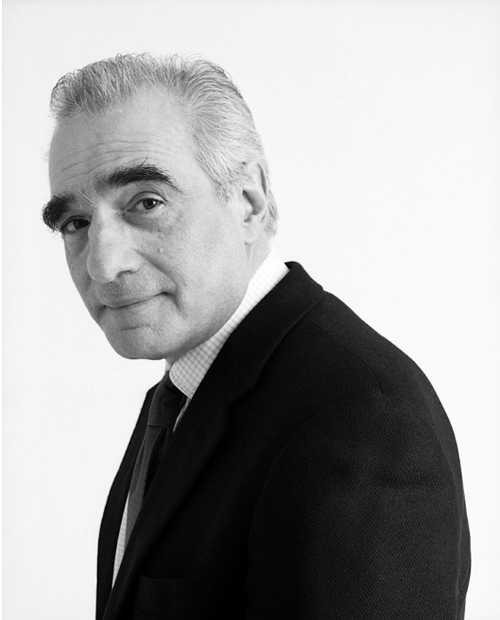 Martin Scorsese photographed by Christian Witkin
