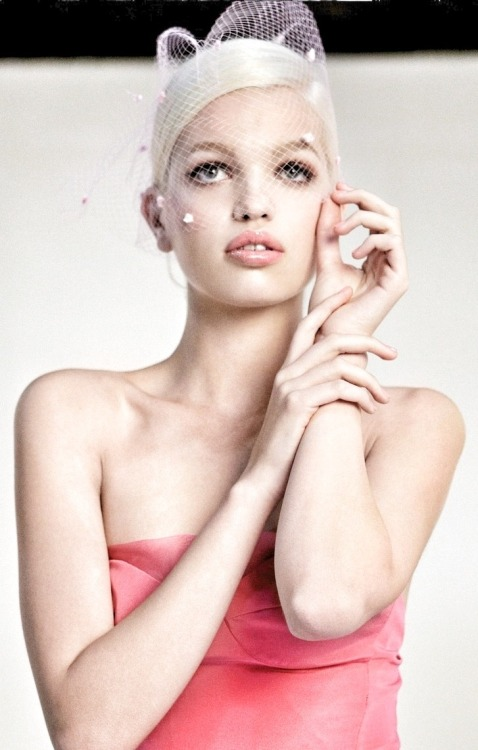 Daphne Groeneveld by Steven Meisel for Dior Addict Gloss S/S 2013