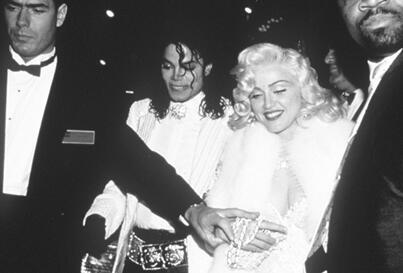 Madonna, Michael Jackson - Friendly Friday:  Michael Jackson and Madonna at the 1991 Academy Awards