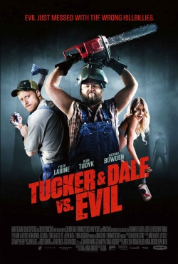 Not Your Average Slasher Movie  Tucker & Dale Vs Evil (2010)   Director: Eli Craig   Rated: R  A quick review over on my blog: My Eyes Are Rectangles