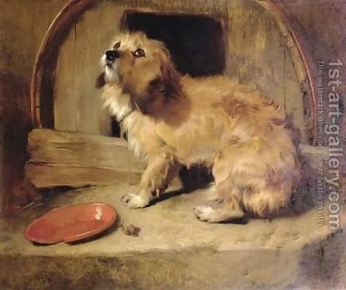 Things I've been jiving lately: Sir Edwin Henry Landseer's woeful dog paintings.