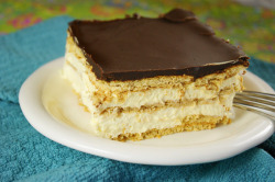 No Bake Chocolate Eclair Recipe