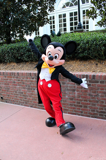 disneyclockwork:  Mickey Mouse by disneylori on Flickr.