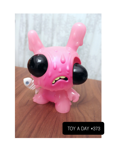 A TOY A DAY FROM MY COLLECTION Meltdown Dunny - U.S. Exclusive  by Chris Ryniak