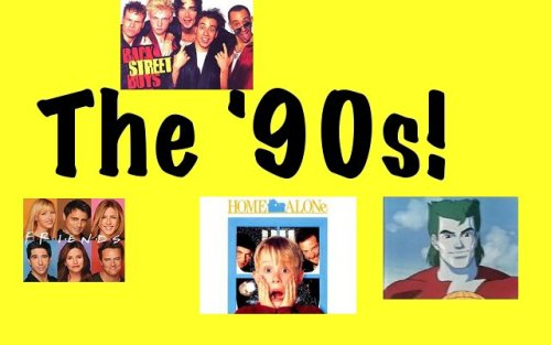 Hey, I wrote a joke today.  Knock Knock: Who's There? The '90s!