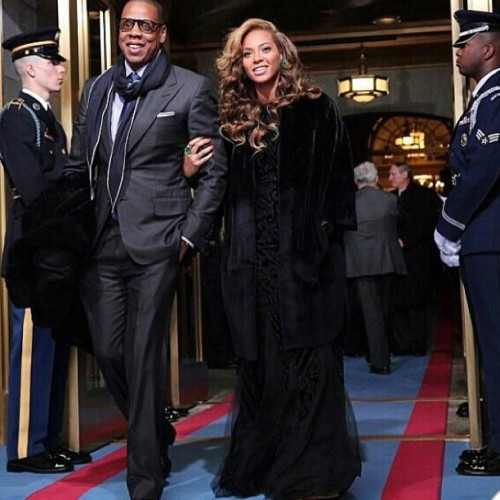 Jay-Z is on his Presidential Sh*t… Can you imagine Queen B as #FLOTUS #inaug2013