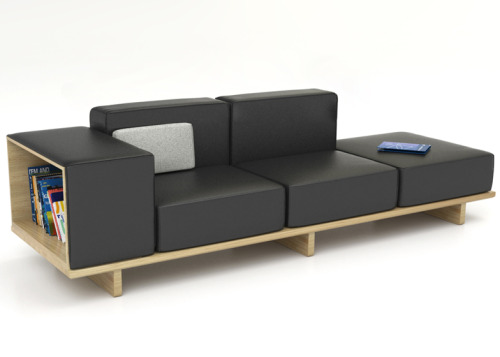 pdc:  Geta furniture range by Arik Levy for Modus