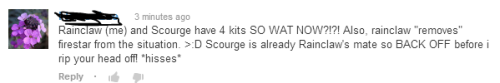 Submitter: did someone say insane Scourge fangirls