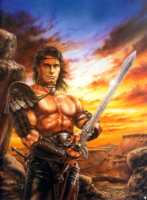fantasyandscifiart:  Conan the Swordsman by Luis Royo.
