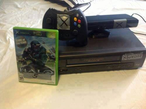 lordbrodus:  The xbox one came out a little early!