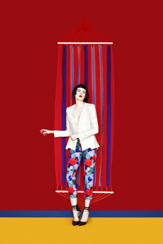 Completely crushing on Erik Madigan Heck's Spring Etro Campaign!  It has Poppy Darling popping all over it  ;)xx