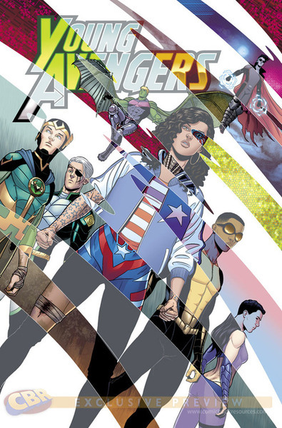 fajrdrako:  Young Avengers vol. 2 #8 - cover by Jamie McKelvie.