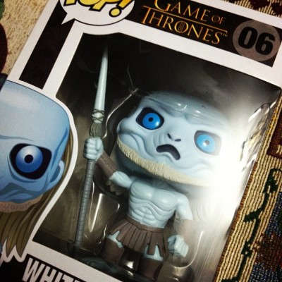 Figurita para la coleccion c: #funko #gameofthrones #whitewalker #figure