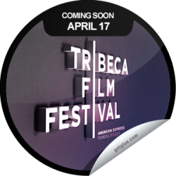 I just unlocked the Tribeca Film Festival 2013 Coming Soon sticker on GetGlue                      3187 others have also unlocked the Tribeca Film Festival 2013 Coming Soon sticker on GetGlue.com                  You are counting down to the Tribeca Film Festival which runs from 4/17 to 4/28. Keeping checking-in throughout the festival to unlock even more exclusive stickers.  Share this one proudly. It's from our friends at Tribeca Film Festival.