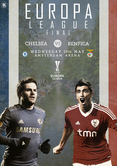 kicktv:  Chelsea or Benfica? [Art by LB]