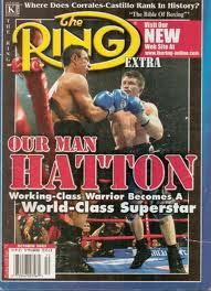 OUR MAN HATTON  Ring Magazine added a lot of momentum to Ricky Hatton's incomparable rise.  Once Hatton beat Kostya Tszyu — a boxer most of the top fighters, including Mayweather Jr., did not want to engage with — he entered into one of the most exiting periods in British boxing history.  No active boxer will move an army of fans as Hatton did.   Which active boxer could excite thousands of their fans enough to fly overseas for support?  Is there even one?