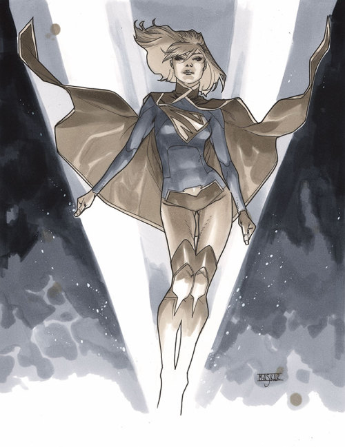 Supergirl Commission for London Super Comic Convention 2013 ticket raffle. Congrats to the winner.More info can be found in the LSCC Facebook page.
