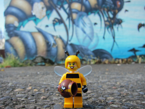 Bumblebee Girl: Minifig Series 10 Image by Chris Christian