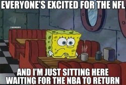 thenbamemes:  LIKE if you can't wait for the NBA to return!