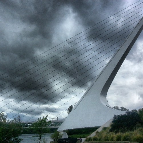 at Sundial Bridge at Turtle Bay Exploration Park