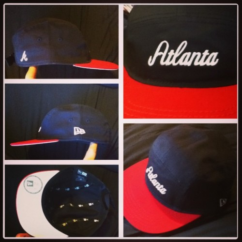 Atlanta Braves 5 panel cap.
