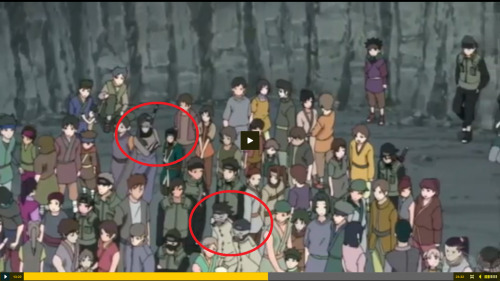 liptontea:  Naruto Shippuden Episode 183 ZABUZA AND HAKU WTH ARE YOU TWO DOING HERE? And Arent those two ninjas at the bottom dead, also?  And there Gekkō Hayate in the right edge of the crowd….