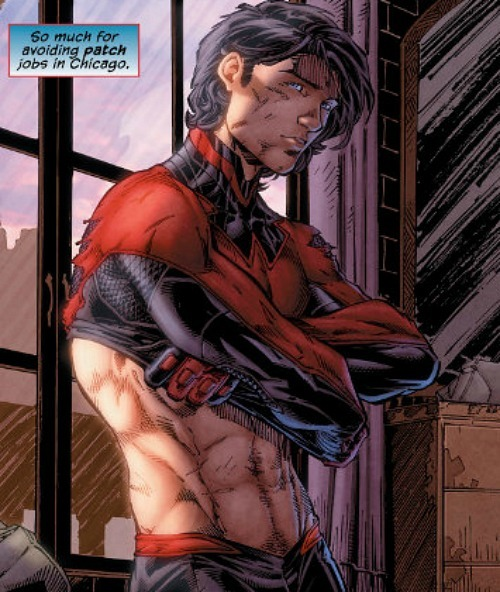 vamparys:  This issue of Nightwing was just, oh so perfect.