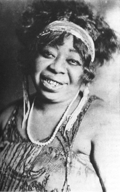 calumet412:  The Mother of the Blues, Ma Rainey, 1927, Chicago. Although not from Chicago, Ma Rainey was discovered by Chicago-based Paramount Records. She would go on to record the lion's share of her greatest recordings while calling the city her home-away-from-home. Do yourself a favor and search for her online recordings. From her not-so-subtle references to sex and other scandalous subjects (like her own proclivity for sleeping with women), her music is like no other.
