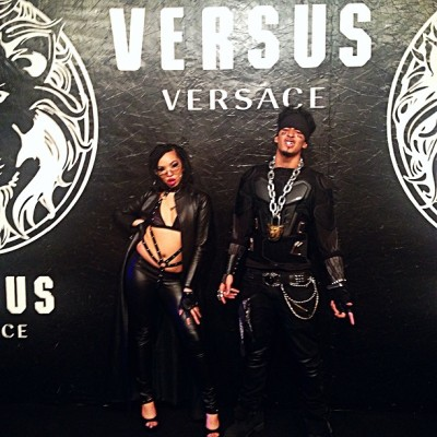 #12HoursAgo With @kayrizz #Versus #Versace