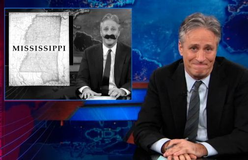 "thedailyshow:  ""As many of you know, if I am bringing up something we did on the show last week, I'm probably about to apologize for it."" http://on.cc.com/VLhSgR"